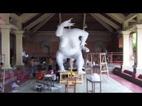 Bali: The making of the OGOH OGOH #3 Jalan Sugriwa UBUD by Hans & Fifi