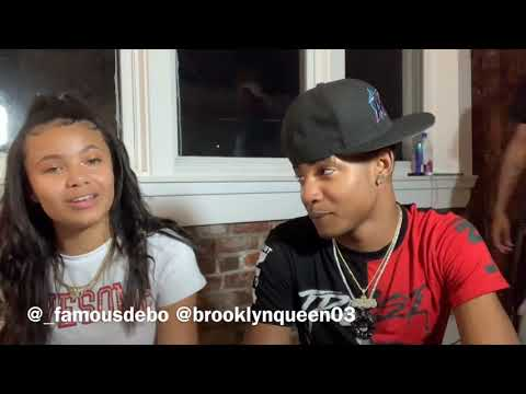 WHATS GOING ON BETWEEN DEBO AND BROOKLYN QUEEN👀 Pt 1. (crazy Ending😂)