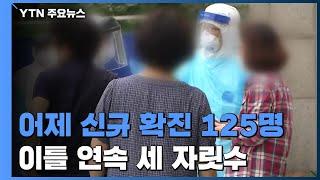 어제 하루 신규 확진 125명...국내발생 110명, 해외유입 15명 / YTN