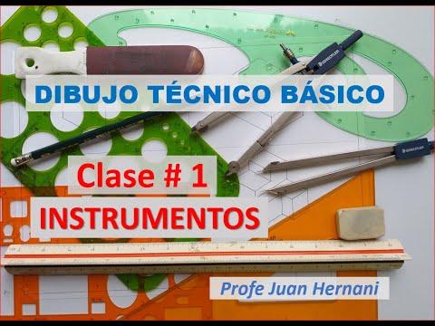 Dibujo Técnico Básico - Clase 1 - Instrumentos
