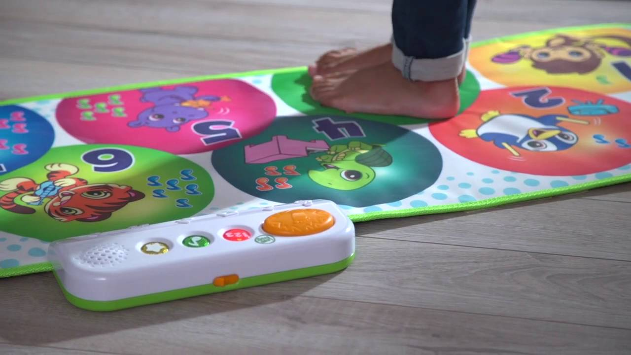 LeapFrog Learning Toys: Learn and Groove Musical Mat - YouTube