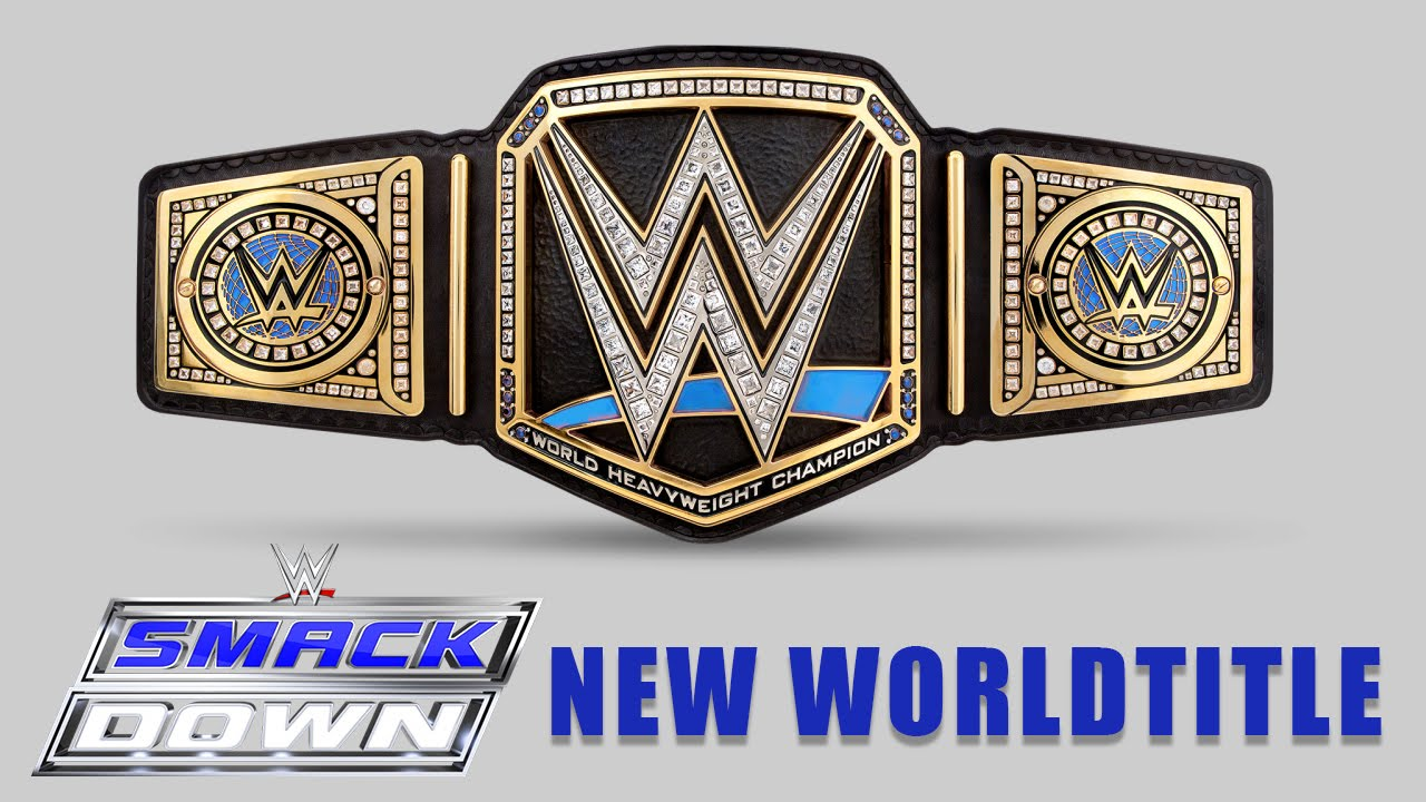 NEW WWE SMACKDOWN WORLD HEAVYWEIGHT TITLE (CONCEPT!) WWE DRAFT 2016/BRAND SPLIT!