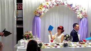 """Конкурс на свадьбе """"На сколько молодожены знают друг друга"""" Запорожье 2018, тамада-ведущая Мария"""