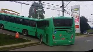Ônibus de Curitiba no McDonald's