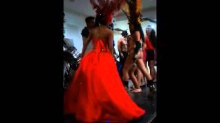 Bateria Samba Ziimba fiesta de 15 años salon del Super Lider (30/08/2013) video 2 de 2