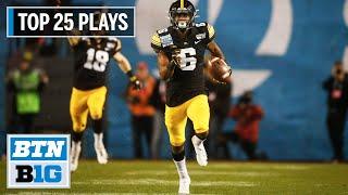 Iowa Football: The Top 25 Plays Of 2019   Big Ten Football