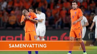 Highlights Nederland - Griekenland (1/9/2016)