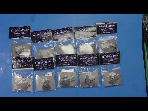 Sprue/Resin Review 1/24-25 BNL Resin Engines