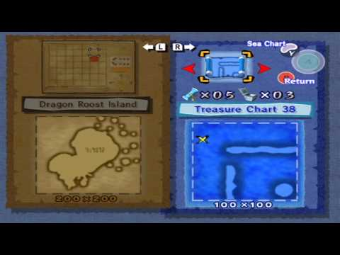Let's play Wind Waker Part 31: Treasure Chart Hunting