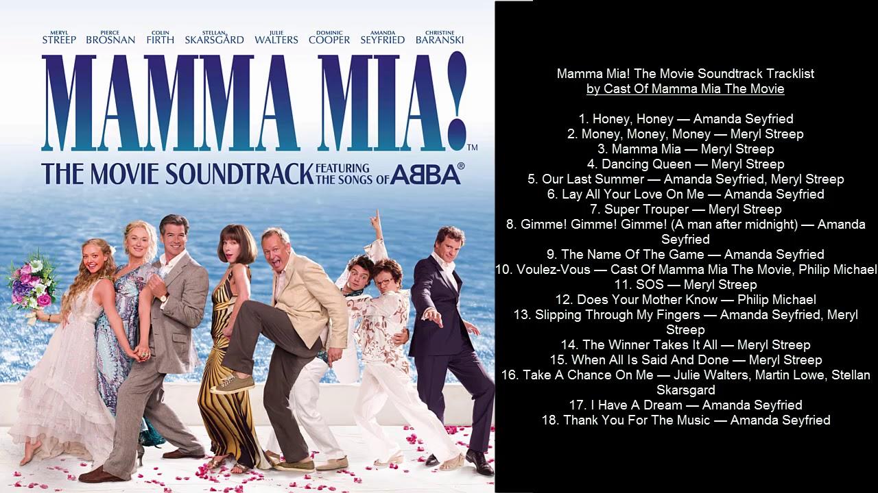 the gallery for gt mamma mia movie soundtrack
