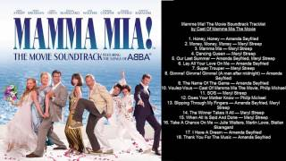 Mamma Mia! The Movie Soundtrack Tracklist by Cast Of Mamma Mia The Movie