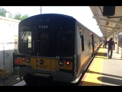 Long Island Railroad: On Board M7 LIRR Port Washinton Branch From Port Washington to Penn Station