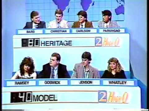 Heritage High School 1988 WSB Channel 2 High Q