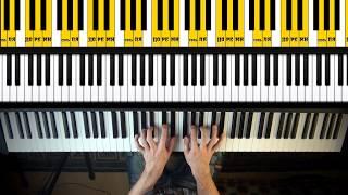Как играть на пианино Часть 2 уроки игры на пианино