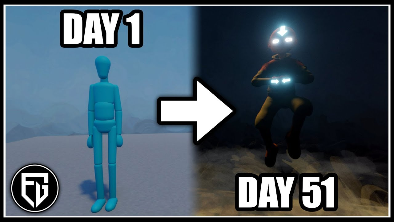 Creating my own Fan-AVATAR Game!   200+ Hrs of Development in 11 Mins!   [Dreams PS4]