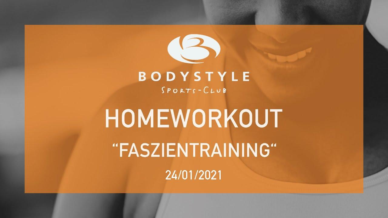 Bodystyle Homeworkout zur Entspannung, Faszientraining mit Kathrin. Viel Spaß und bleibt gesund