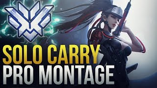 When Pros Solo Carry #3 - Overwatch Montage