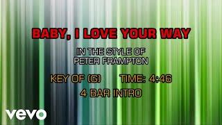 Peter Frampton - Baby, I Love Your Way (Karaoke)