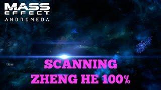 Mass Effect Andromeda - Scanning Zheng He 100% (Heleus Cluster)