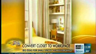 Big Ideas for Small Bedrooms