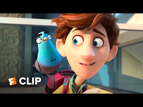 Spies in Disguise Exclusive Movie Clip – Physics Problem (2019) | Movieclips Coming Soon