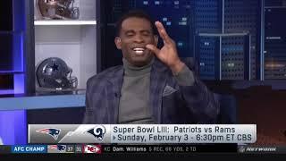 Shannon Sharpe PREDICTS SB LII: Patriots vs Rams, Who win?