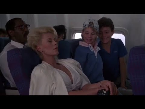 Police Academy 5 (1988): Airplane Scene With Michael Winslow, David Graf & Marion Ramsey.