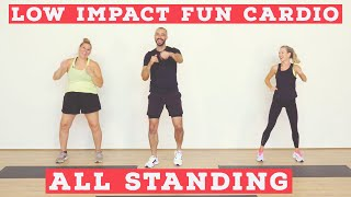 LOW IMPACT home workout for all fitness levels | TOTAL BODY screenshot 4