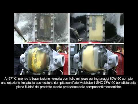 Un Test Alle Basse Temperature Sul Lubrificante Mobilube 1 SHC 75W-90