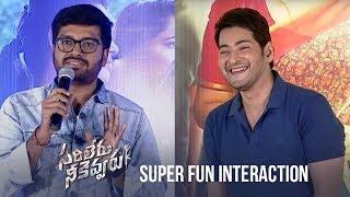 Mahesh Babu & Anil Ravipudi SUPER fun interaction with Family audience | Sarileru Neekevvaru