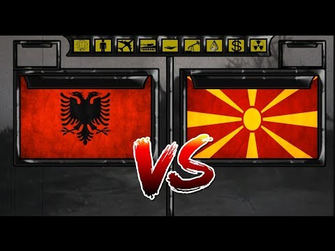 Albania VS Macedonia MIlitary Power Comparsion 2018
