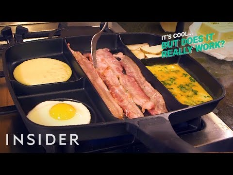 Master Pan Cooks One Full Breakfast | It's Cool, But Does It Really Work?