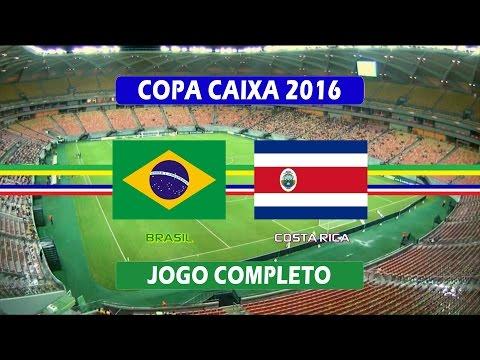 Brasil x Costa Rica - Jogo Completo - Copa Caixa de Futebol Feminino (07/12/2016)
