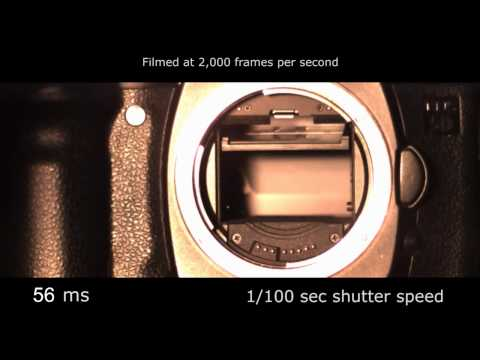Download Youtube: Slow motion camera shutter - Canon 5D 2,000 fps
