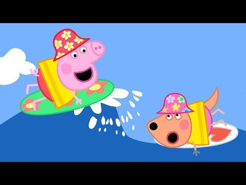 Peppa Pig Full Episodes - Surfing - Cartoons For Children