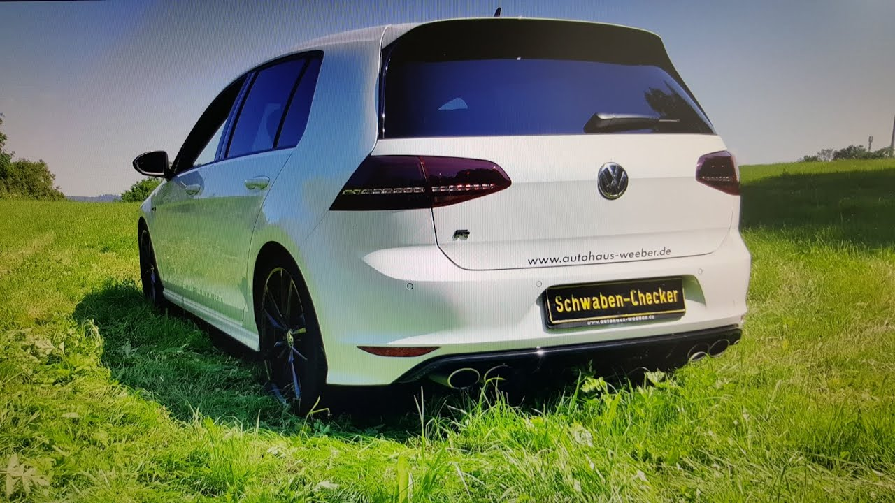 vw golf 7r dsg 4motion test drive komplett check beschleunigung review youtube. Black Bedroom Furniture Sets. Home Design Ideas
