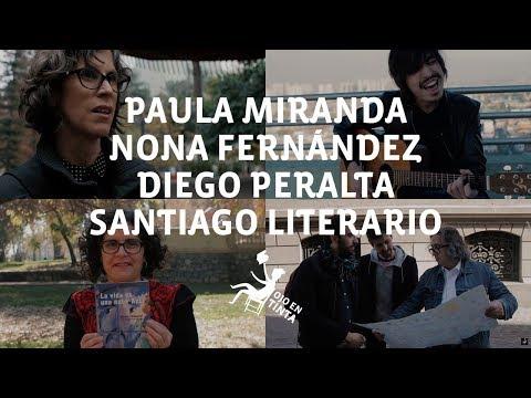 Paula Miranda y Nona Fernández en Ojo en Tinta  T3 C4
