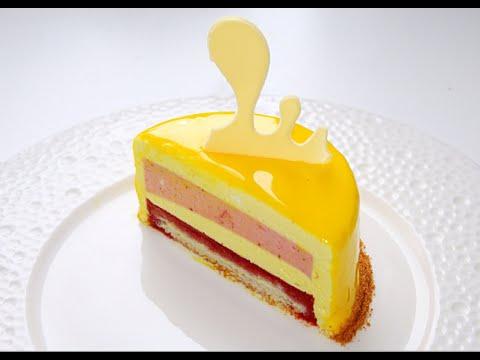Муссовый лимонно-клубничный торт / Mousse Lemon-Strawberry Cake