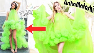 HUGE Lirika Matoshi Try On Haul !! *you've never seen clothes like this*
