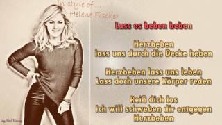 Helene Fischer  - Herzbeben - Instrumental