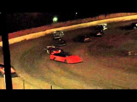 lake cumberland speedway 10 22 11 late model feature part2