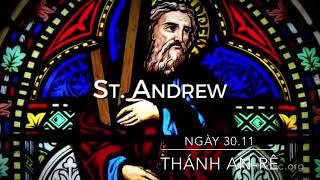 Ngày 30.11: Kính thánh An-rê Tông đồ