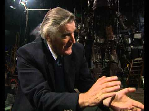 Ted Hughes interview and a reading from The Iron Man