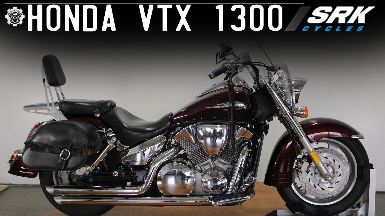 Honda VTX 1300 - YouTube