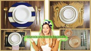 Amerikan servis yapımı (4 Amerikan servis fikri)