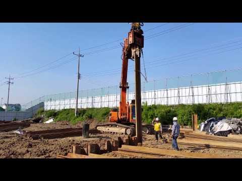 [ Winwin Used Machinery ] Excavator Mounted Vibro Hammer For Sale