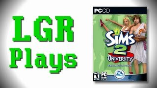 LGR Plays - The Sims 2 University