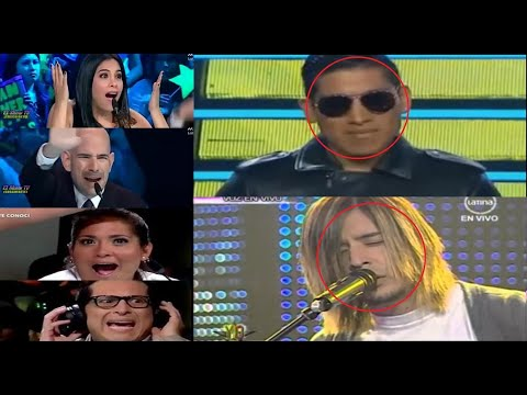 Mejores imitadores de cantantes famosos (Peru) Casting-Yo Soy