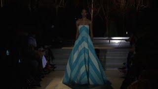 Moda New York, l'ultima sfilata di Carolina Herrera