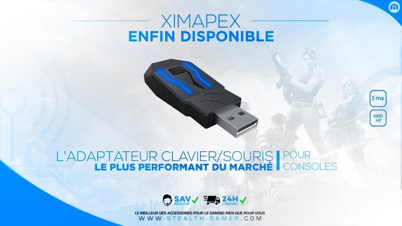 XIM APEX - Configuration filaire Manager (en jeu/PC/MAC) | No-Pad fr